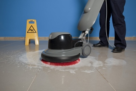 Floor Care Cleaning Services In Hartford CT Clean Solutions - Buffing ceramic tile floors